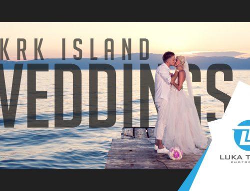 Krk Island Weddings by Luka Tabako Photography